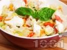 Рецепта Лесна салата с овче сирене
